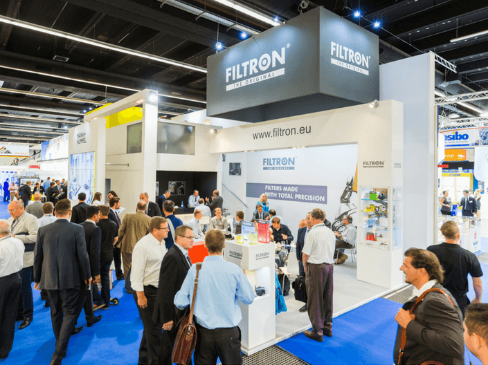 FILTRON at the Automechanika trade fair in Frankfurt